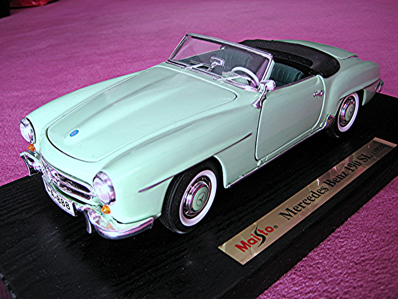 1:18 Mercedes 190 SL mint 1955