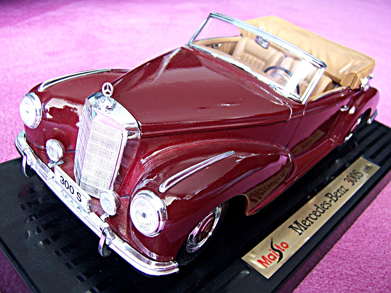 Mercedes 300 S bordeaux 1955
