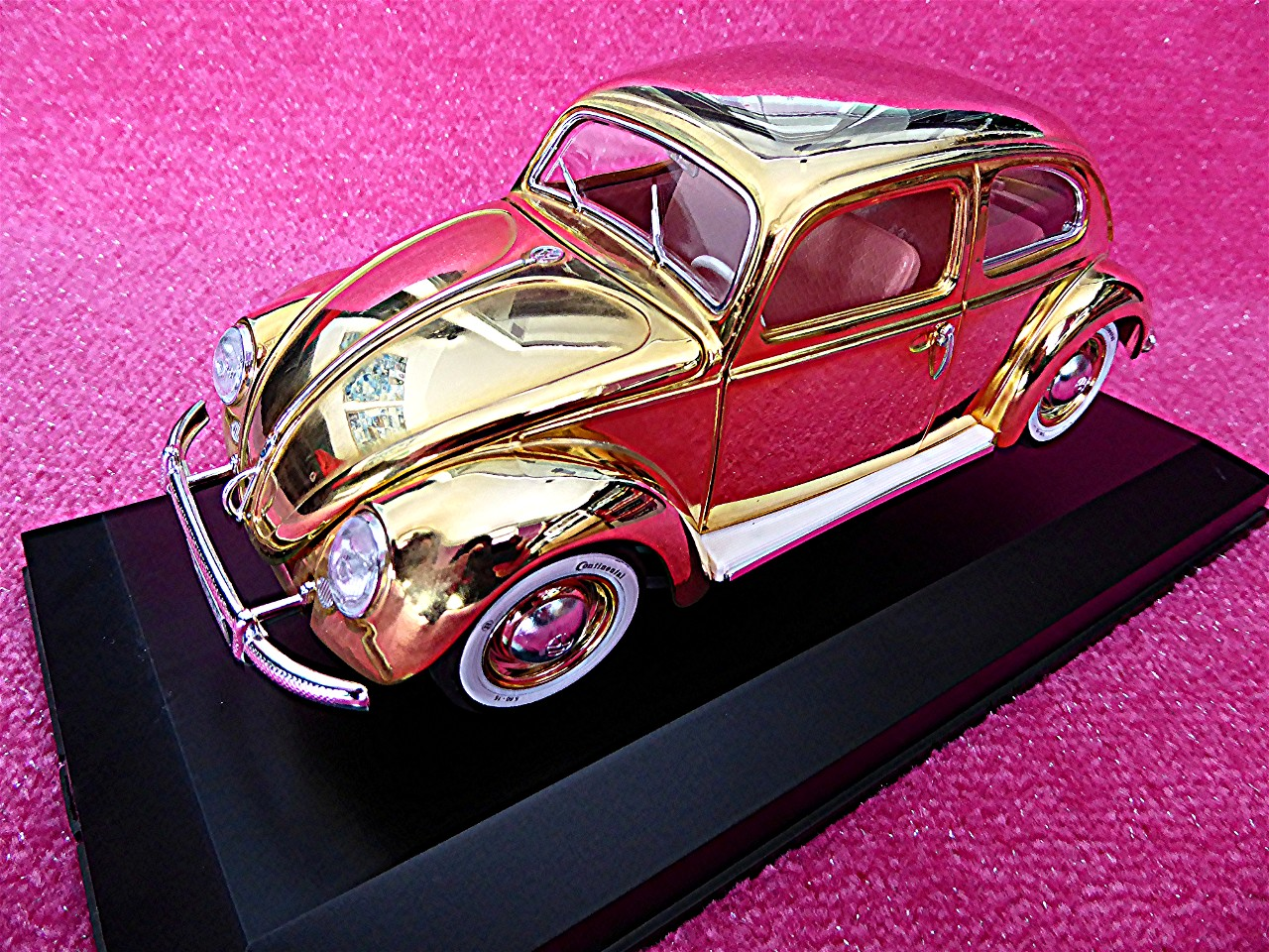 1:18 VW Kaefer Beetle gold 1955
